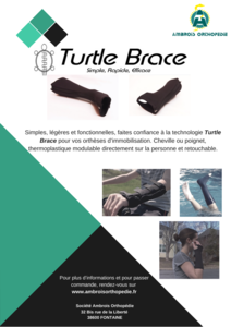 Visuel : Turtle Brace arrive en France !!!
