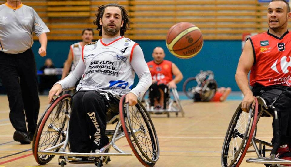 Ludovic SARRON (BASKETTEUR Meylan Grenoble HANDBAL